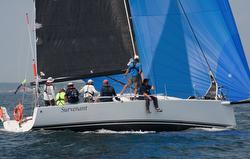 J/111 sailing Marblehead to Halifax race