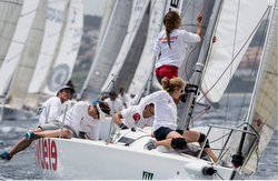 J80 world championship off Sotogrande, Spain