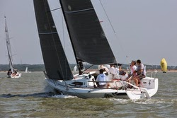 J/88 family speedster- sailing Solent