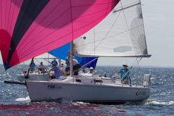 J/105 sailing Marbheleahd ONE regatta