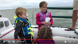 J/34 family sailing on Lake Erie