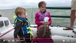 J/34 family sailing on Lake Erie