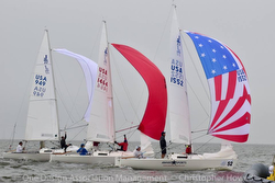 J/22s sailing regatta