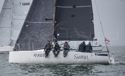 J/88 sailing Warsash series on Solent