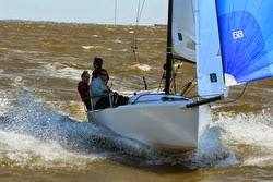 J/70 sailing JFest SW in Houston, TX