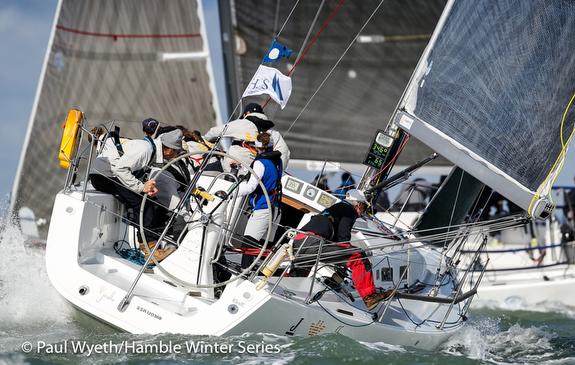 J/109 sailing the Solent