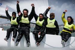 Rossi's PETITE TERRIBLE Two-peats J/70 Europeans!