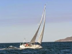 J/130 sailing off Banderas Bay, Mexico