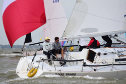 J/105 GOOD TRADE sailing NA's Seabrook Texas