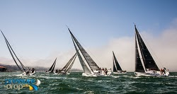 J/111 sailboats- sailing Rolex Big Boat Series- San Francisco