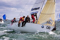 J/24 one-design sailboat