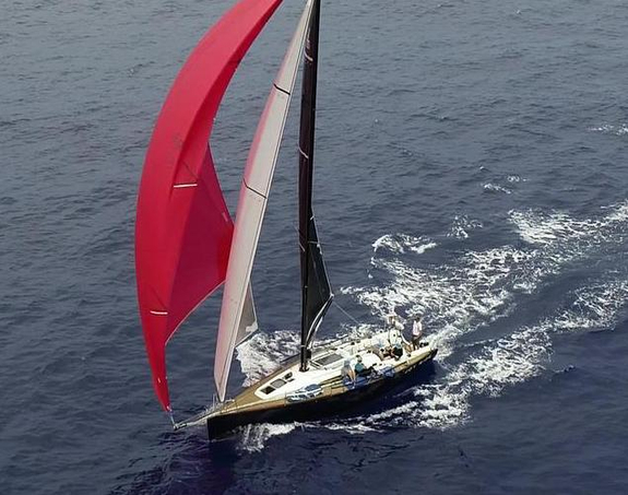 J/122E sailing offshore
