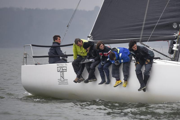 J/88 sailing fast- Warsash Spring Series