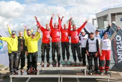 Sweden J/70 Sailing League winners- KSSS