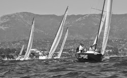J/70 eclipse winning Fiesta Cup regatta