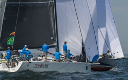 J/122 Teamwork sailing New York YC Annual Regatta