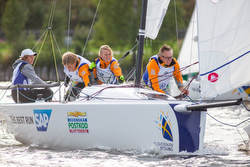 Swedish J/70 Sailing League action