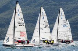 J/70s sailing Italian J/70 Cup