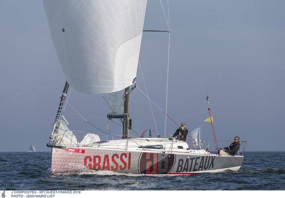 J/99 sailing off France