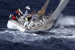J/44 Spice sailing RORC 600 race