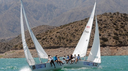 J/24s sailing PIMMS CUP- Argentina