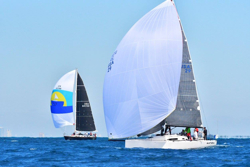 J/111 sailing Miami to Havana, Cuba race