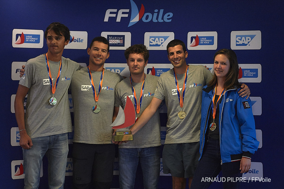 J/70 France Sailing League champions
