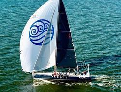 J/145 Katara sailing offshore