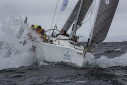 J/109 sailing Irish offshore series