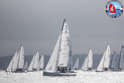 J/70s sailing on Saturday