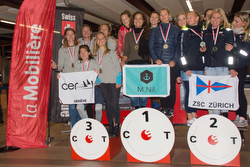 Swiss J/70 Women's Sailing League winners