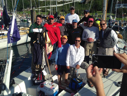 J/35 Mr Bill's Wild Ride- winners Bayview Mac race