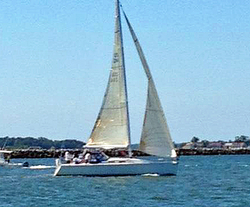 J/120 sailing Vineyard Cup Regatta
