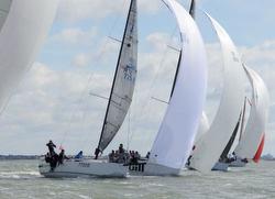 J/111 sailing Spring Championship in Warsash, England