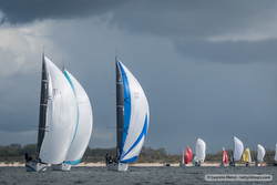 J/111 fleet sailing Benelux series