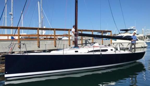 J/121 Blue Flash sailing Cabo Race