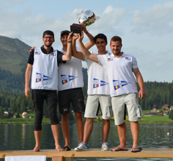J/70 Swiss sailing league winners