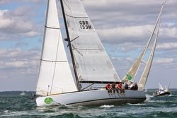 J/133 sailing RORC Trans-Atlantic Race