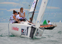 J/70 Swiss team sailing league