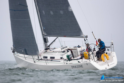 J/109 sailing North Sea Race