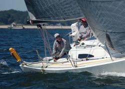 J/88 sailing Vineyard Race