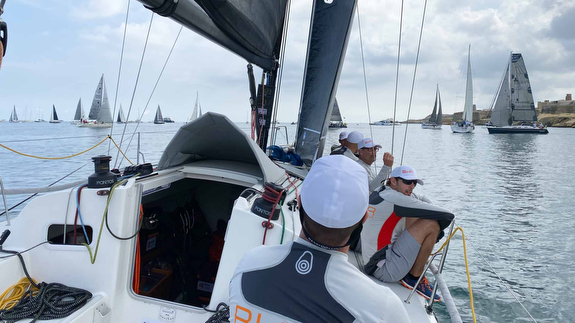 J/111 starting Rolex Middle Sea Race in Malta