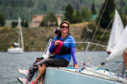 J/24 women sailors on Lake Dillon