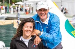 Claudi Rossi with father Alberto