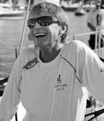J/70 sailor Wally Cross- Grosse Pointe YC sailing director