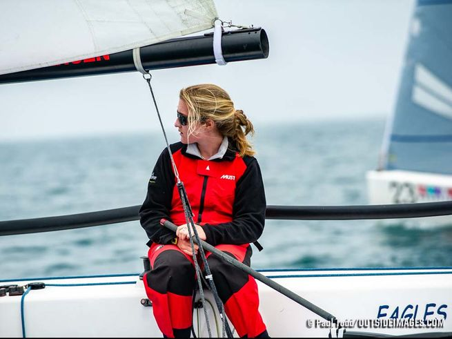 J/70 woman skipper- Chicago NOOD regatta