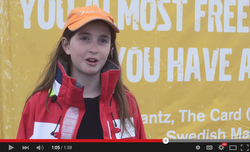 Youth Inspiration at Volvo sailing off Fort Adams