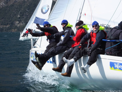 J/80 Russia Yachting Cup crew fun!
