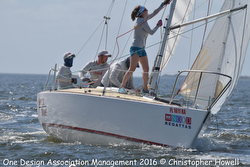 J/24 sailors at Midwinters
