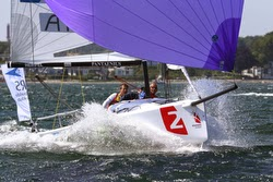 J/70 sailing Danish Sailing League